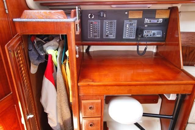 Pearson 36-2 Nav Station and Closet