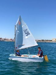 2017 Optimist Sailing Dinghy