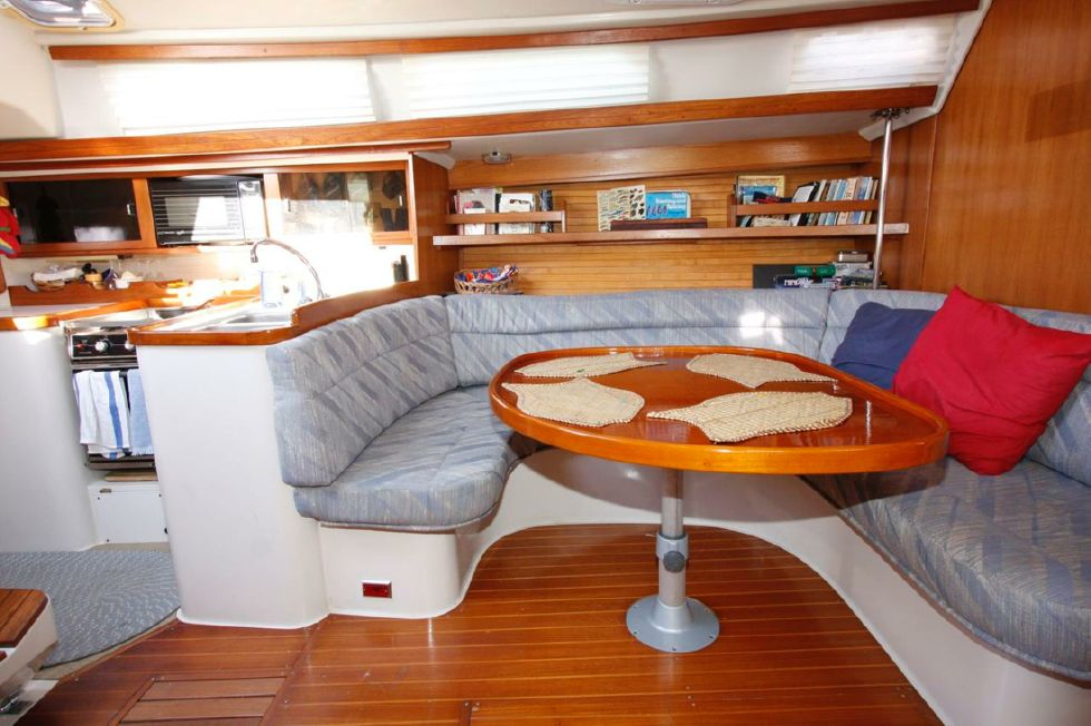 1991 Catalina 42 Two cabin - Dinette and Galley