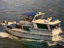 1986 Atlantic 47 flushdeck motor yacht