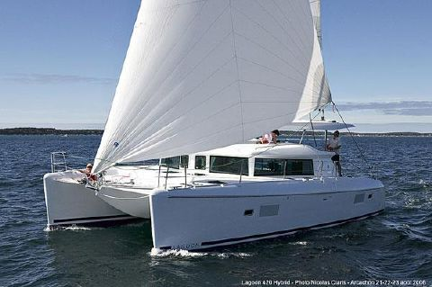 2007 Lagoon 420 - under sail-sistership
