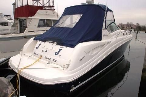 Sea Ray 340 Sundancer Starboard Side