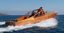 1960 Storebro 25 classic motor boat