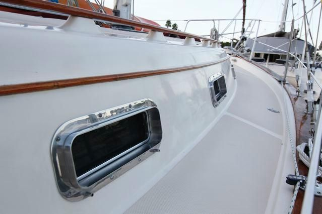 Island Packet 31 Stainless Ports