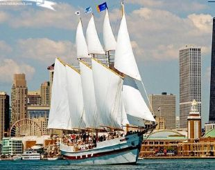 1996 Schooner 4 Masted Gaff Rigged