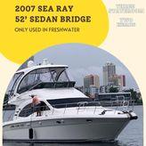 2007 Sea Ray 52 Sedan Bridge