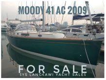 2009 Moody 41