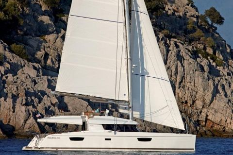 Manufacturer Provided Image: Fountaine Pajot Ipanema 58