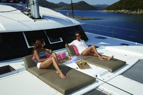 Manufacturer Provided Image: Fountaine Pajot Ipanema 58 Sunbeds