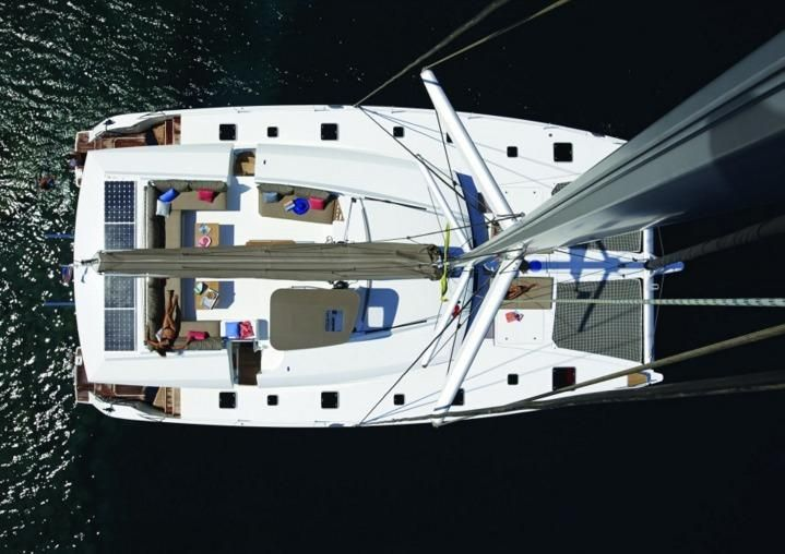 Manufacturer Provided Image: Fountaine Pajot Ipanema 58 Aerial View