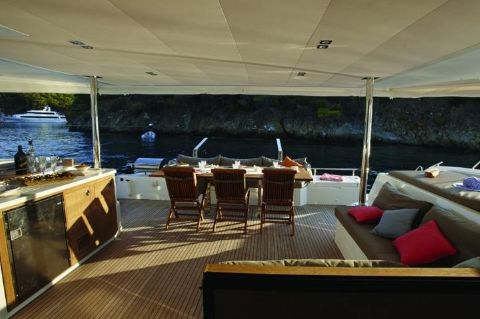 Manufacturer Provided Image: Fountaine Pajot Ipanema 58 Cockpit