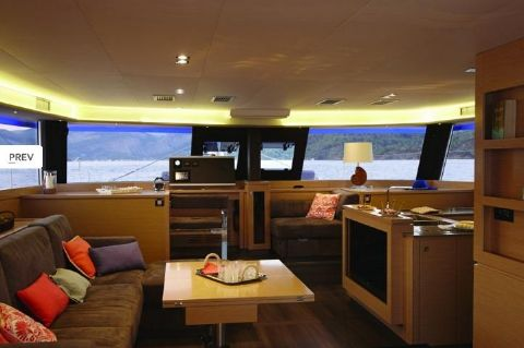 Manufacturer Provided Image: Fountaine Pajot Ipanema 58 Interior