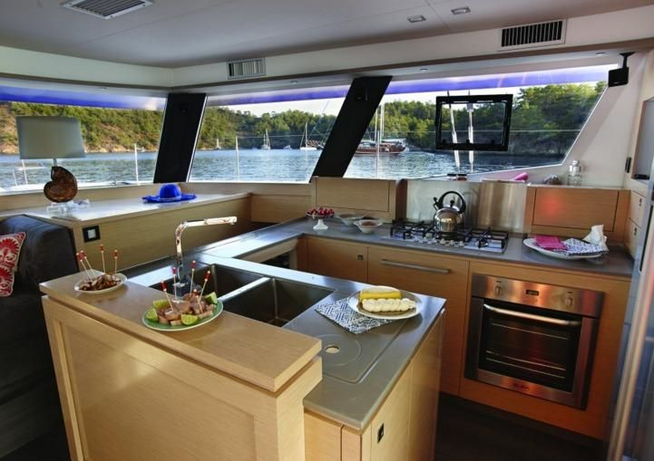 Manufacturer Provided Image: Fountaine Pajot Ipanema 58 Galley