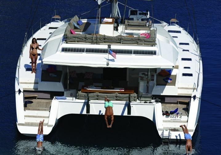 Manufacturer Provided Image: Fountaine Pajot Ipanema 58 Stern