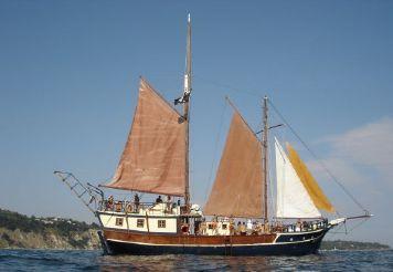 "1972 Custom Motor – sailing yacht ""Santa Marina"""