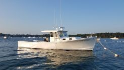 2018 Lowell Brothers Lobster Boat Tuna Sportfish - 750 hp John Deere