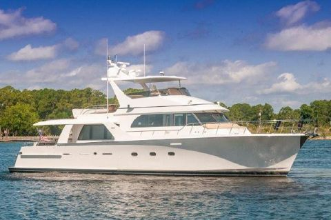 2002 Cheoy Lee 72 Pilothouse - 2002 Cheoy Lee 72 Pilothouse - Profile