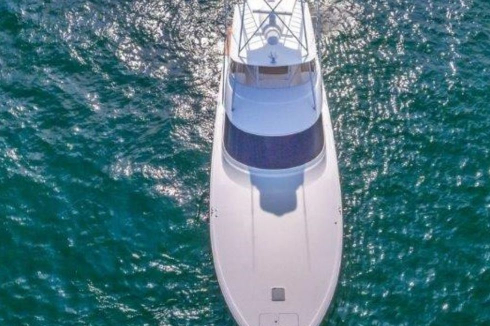 2016 Viking 66 Convertible - Profile 4 - Aerial View