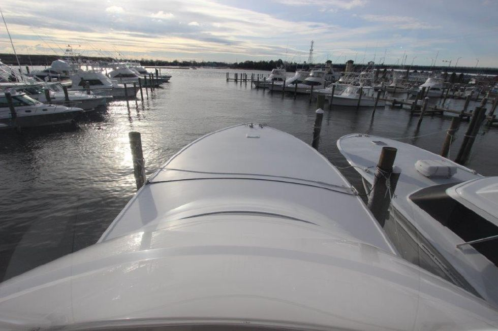 2016 Viking 66 Convertible - Deck 1 - Foredeck