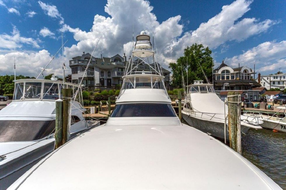 2016 Viking 66 Convertible - Deck 2 - Foredeck
