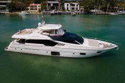 2013 Ferretti Yachts 870 FLYBRIDGE