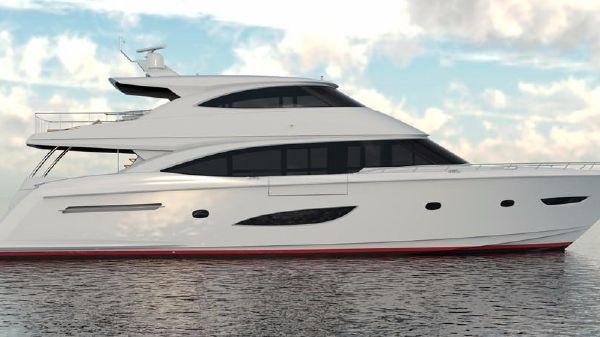 Viking Boats 93 Motor Yacht Starboard Side