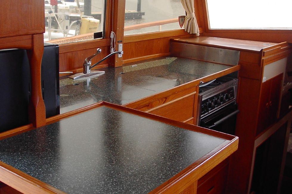 1986 Grand Banks Classic - Galley 2