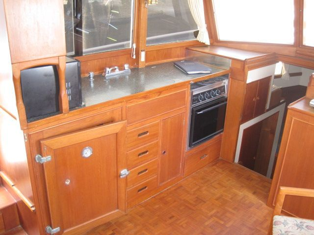1986 Grand Banks Classic - Galley