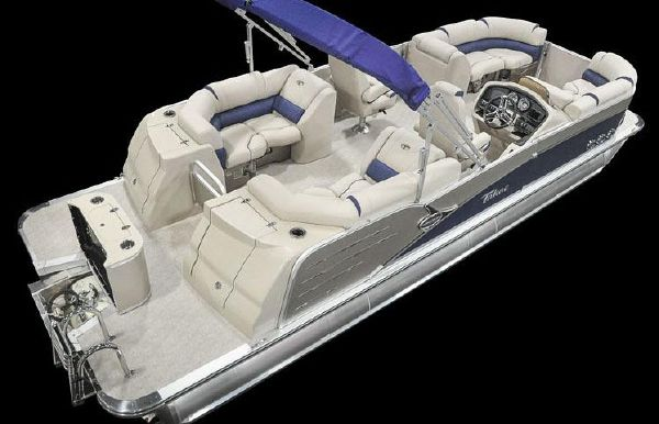 2018 Tahoe Pontoon Cascade Platinum Quad Lounge - 27'