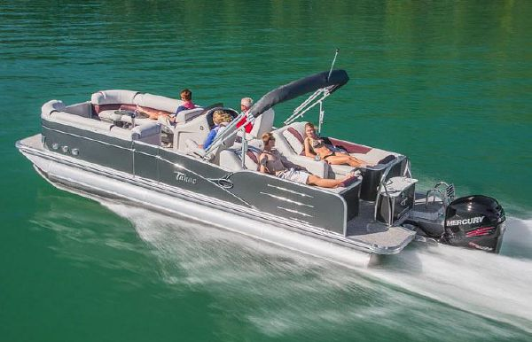2018 Tahoe Pontoon Cascade Platinum Rear Lounge - 27'