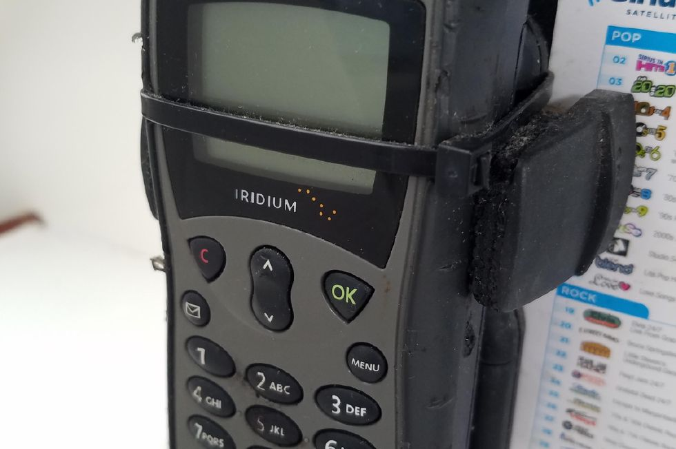 Grainger Catamaran  sat phone