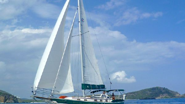 Gozzard 36 Under Sail