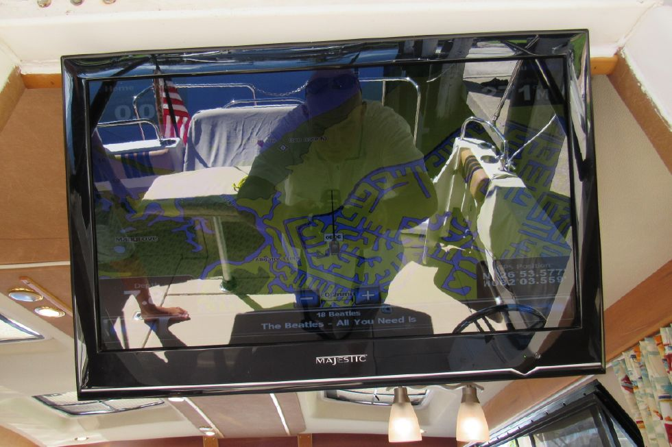 TV is Integrated to Show Helm Electronics