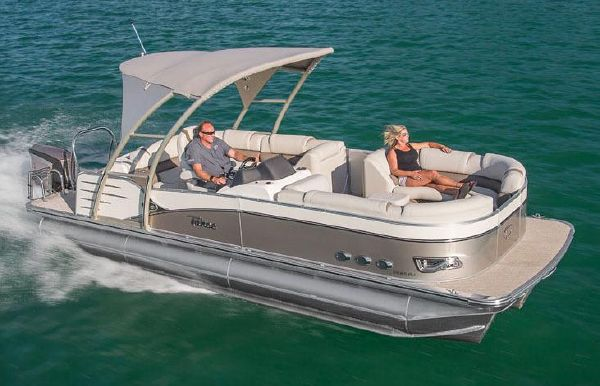 2018 Tahoe Pontoon Cascade Platinum Rear J Lounge - 27'