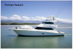 2012 Viking 76 Enclosed Skybridge