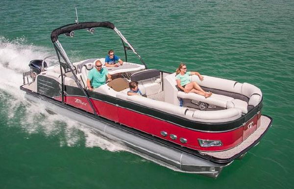 2018 Tahoe Pontoon Cascade Platinum Entertainer - 25'