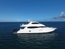 2003 Lazzara Yachts 80 Skylounge