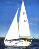 1970 Sailboat Storfidra 25