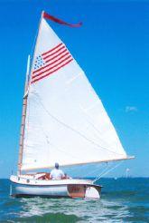 1980 Herreshoff 18' Cat Boat