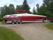 1995 Fountain 38 Sport Cruiser