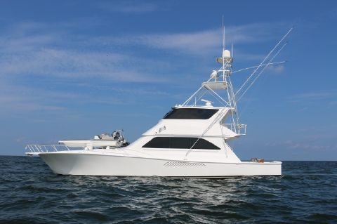 2003 Viking 65 Enclosed Bridge