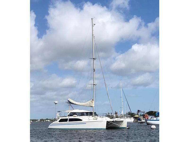 2000 Seawind 1000 33 Boats for Sale - Edwards Yacht Sales