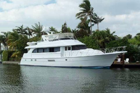 2002 Hatteras Motoryacht - ALTERNATE PROFILE