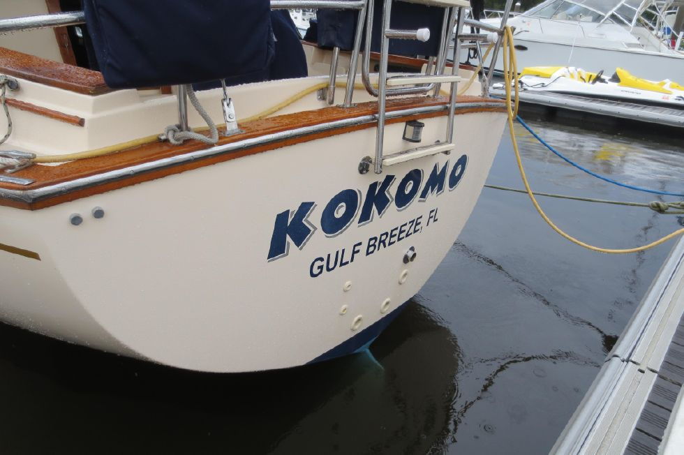 1996 Island Packet 29 Cutter - Transom