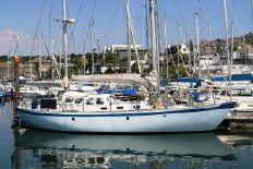 Alan Pape Saga 45 Custom Steel Ketch