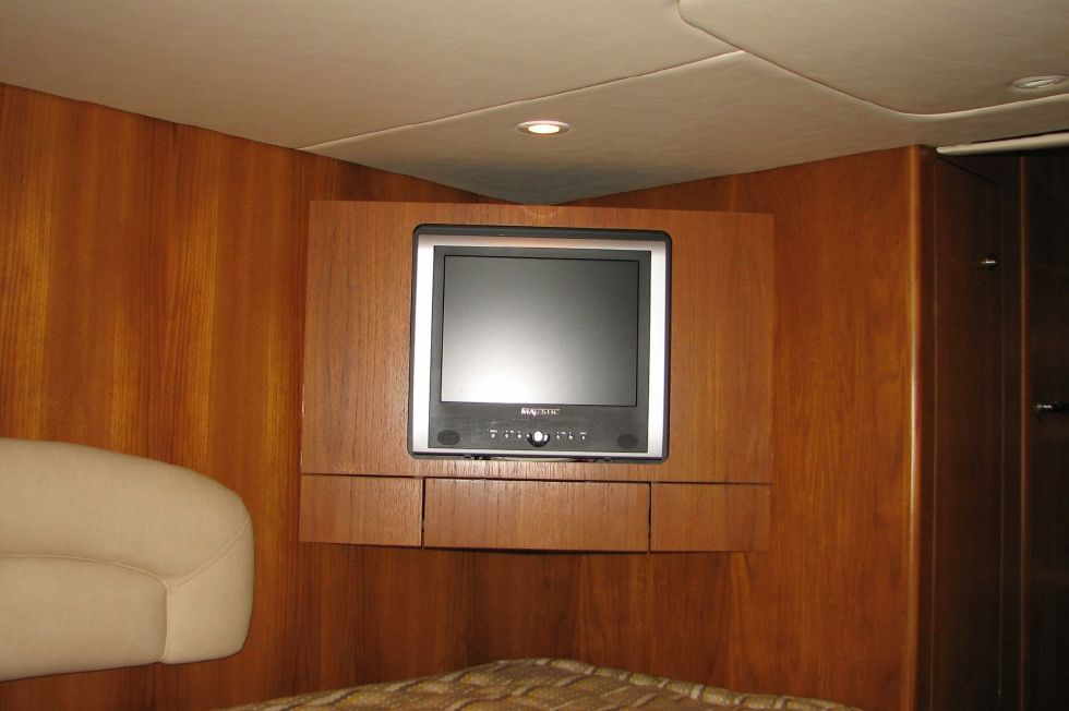 Aft Stateroom Entertainment Center