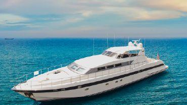 1995 Mangusta Express Motor Yacht Upgraded