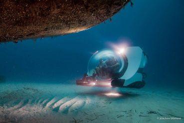 2018 U-Boat Worx submarine 1+2 passengers