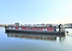 2007 Wide Beam Narrowboat 60 x 11 Aqualine Canterbury