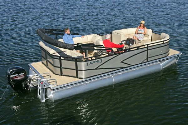 Lund LX200 Pontoon - main image